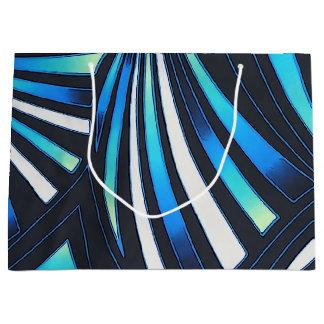 blue fan gift bag (large)