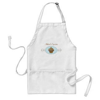 Blue Fancy Cake Adult Apron