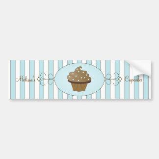 Blue Fancy Cake Bumper Sticker