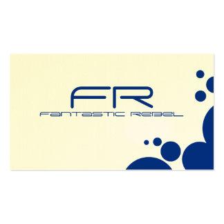 Blue Fantastic Rebel Business Cards