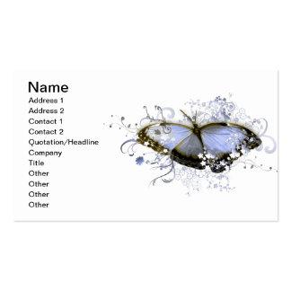 Blue Fantasy Business Card