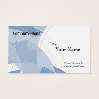 Blue Fantasy Business Card Templates