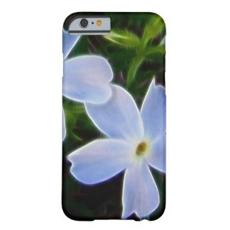Blue fantasy spring flower iphone 6 case