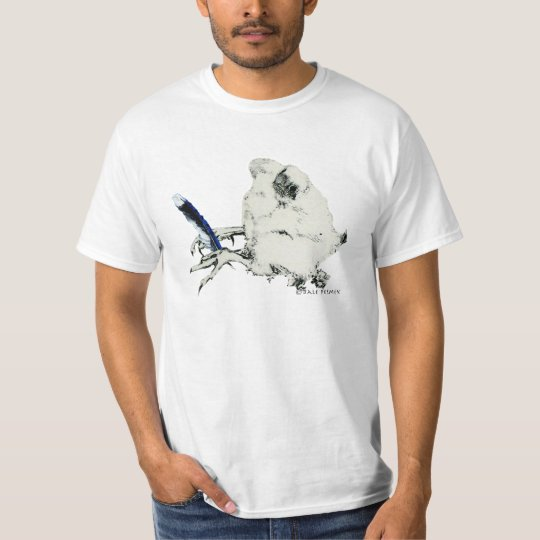Blue Feather Adult Male T Shirt