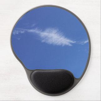 Blue Feather Cloud Gel Mousepad