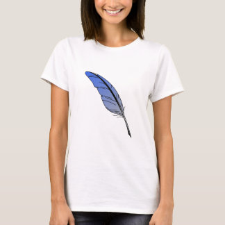 Blue Feather Quill T-Shirt
