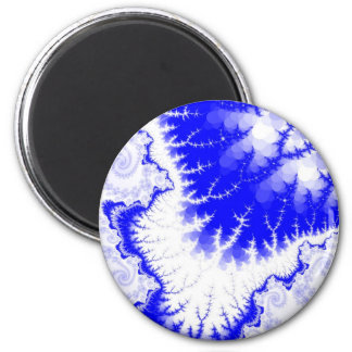 Blue Feathered Star Magnet