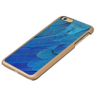 Blue feathers incipio feather shine iPhone 6 plus case