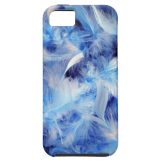 Blue Feathers iPhone SE/5/5s Case