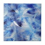 Blue Feathers Tiles