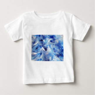 Blue Feathers Tshirts