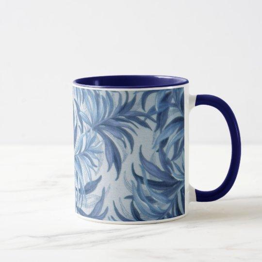 Blue Fern Mug