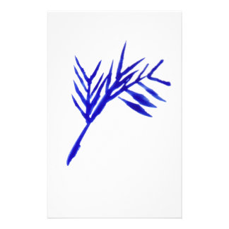Blue Fern Stationery Paper