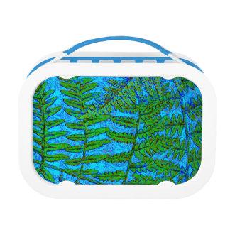 Blue Fern Yubo Lunch Box