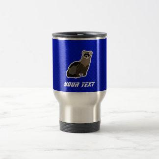 Blue Ferret 15 Oz Stainless Steel Travel Mug