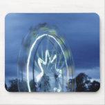 Blue Ferris Mouse Pad