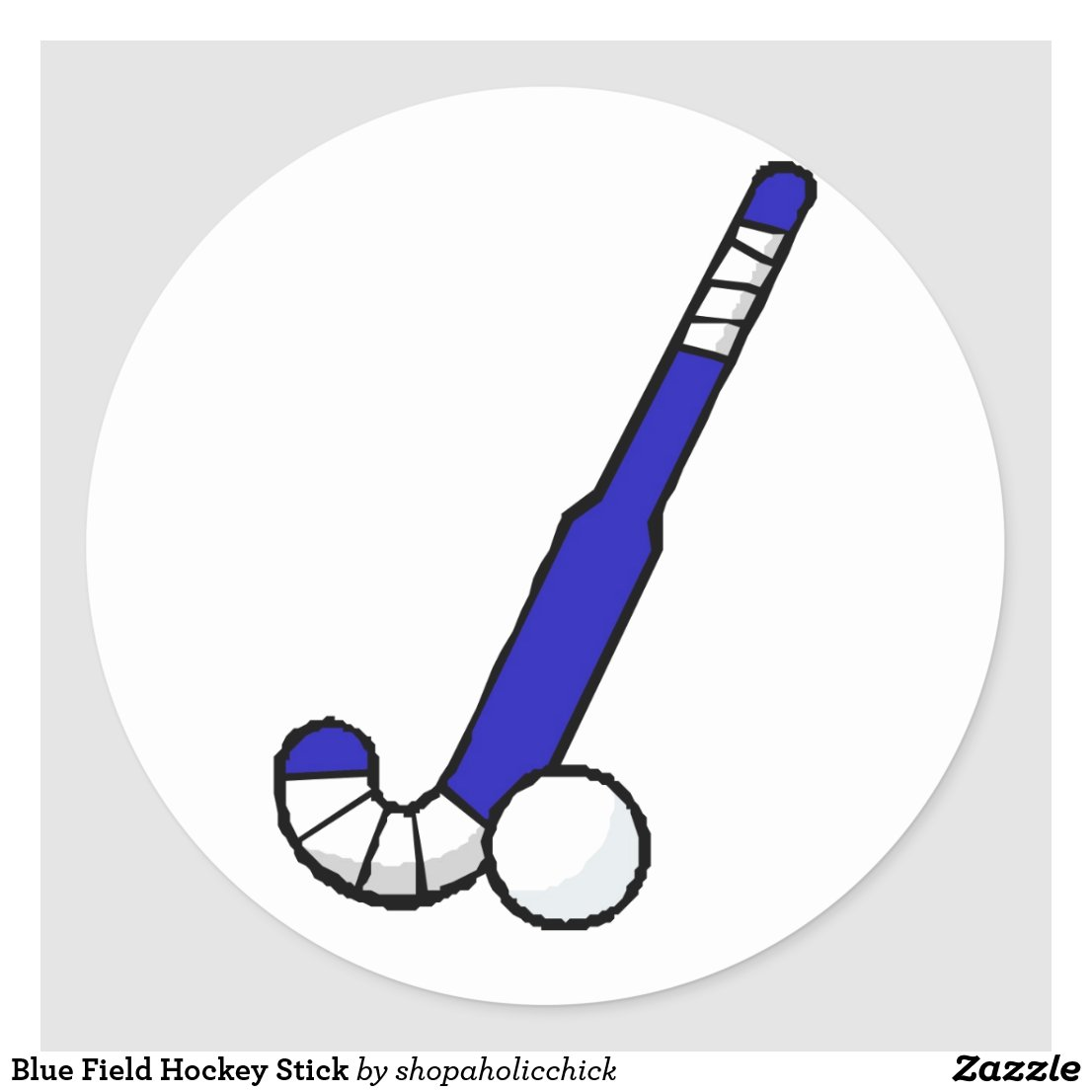 Crossed Field Hockey Sticks Blue Field Hockey Stick Dita Hockey