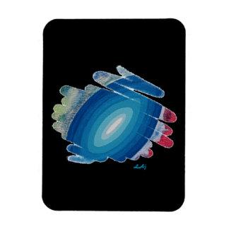 Blue Fifth Chakra Flex Photo Magnet