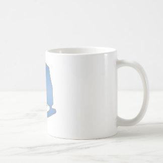 Blue Figure Skate Coffee Mug