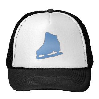 Blue Figure Skate Trucker Hat