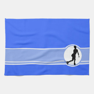 Blue Figure Skating Towel
