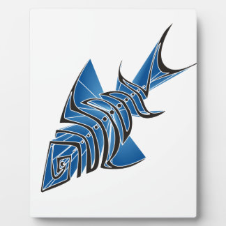 Blue Fin Display Plaques