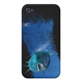 Blue fin tuna  cover for iPhone 4