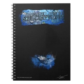 Blue fin tuna Saltwater-studio note book