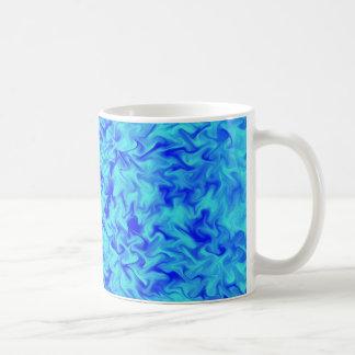 Blue Fire Coffee Mug