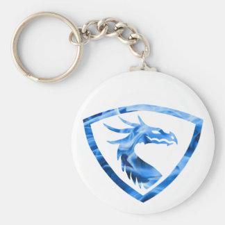Blue fire dragon 1 keychain