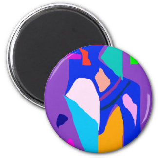 Blue Fire Everything Disappears No Truth 2 Inch Round Magnet