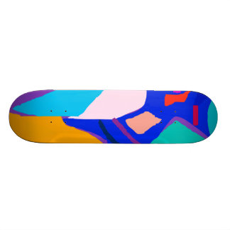 Blue Fire Everything Disappears No Truth Skateboard Decks