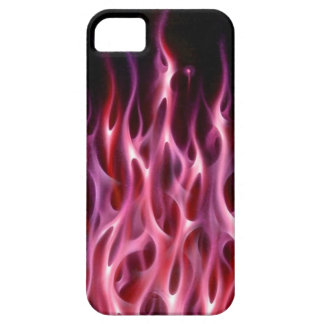 Blue Fire Flame design airbrush car custom cool ho iPhone SE/5/5s Case