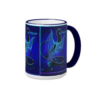 Blue Fire Mugs