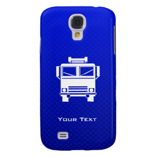 Blue Fire Truck Galaxy S4 Cover