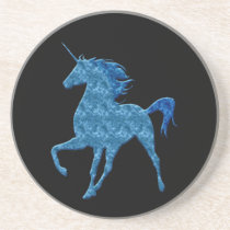 Blue Fire Unicorn Coaster