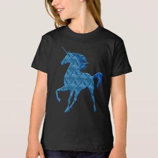 Blue Fire Unicorn Shirt