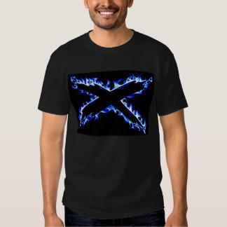 BLUE FIRE X T-Shirt