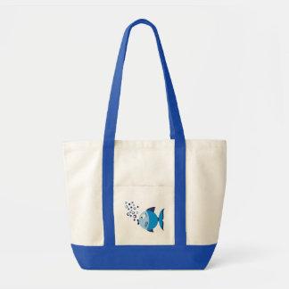 Blue Fish Bag