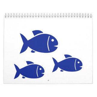 Blue Fish Calendars