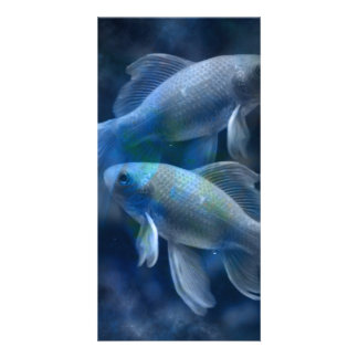 Blue Fish Card