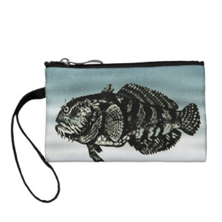 Blue Fish Coin Wallet