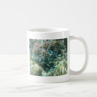 Blue Fish &Coral Coffee Mug