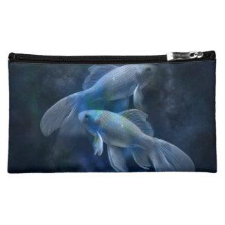 Blue Fish Cosmetic Bag