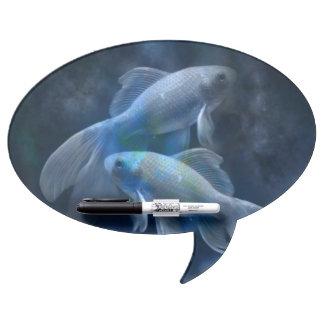 Blue Fish Dry Erase Board