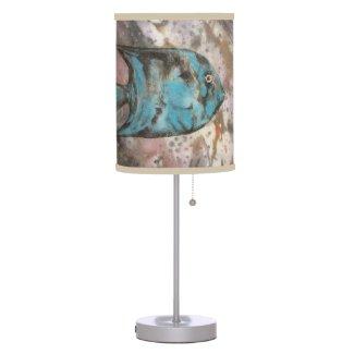blue fish lamps