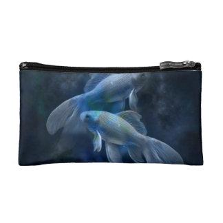 Blue Fish Makeup Bag