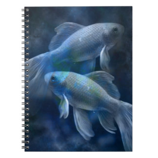 Blue Fish Notebook