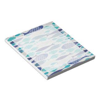 Blue Fish Notepad