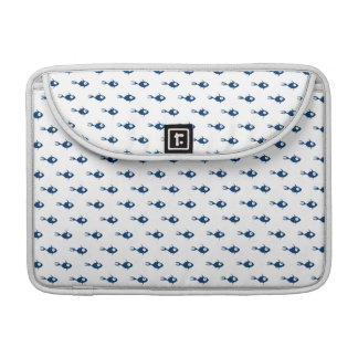 Blue Fish Pattern MacBook Pro Case Sleeves For MacBooks